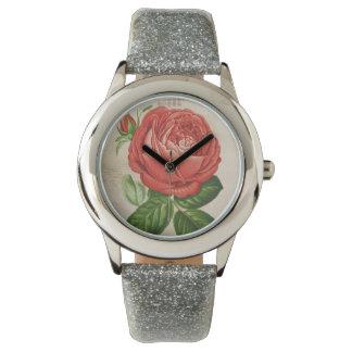 Montres Bracelet Perpétuel hybride rouge vintage, Paul Neyron s'est