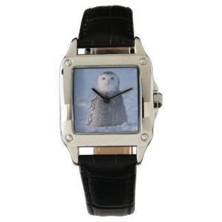 Montres Bracelet Photo arctique élégante de fantaisie de hibou de