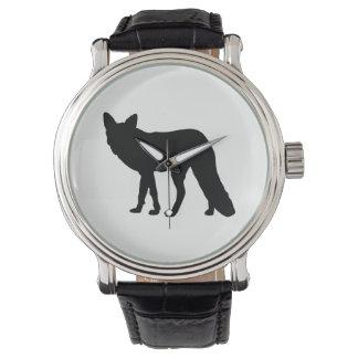 Montres Bracelet Silhouette de Fox