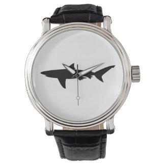 Montres Bracelet Silhouette de requin