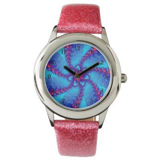 Montres Bracelet spirale de fractale
