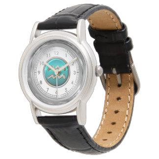 Montres Bracelet Symbole astrologique de Verseau