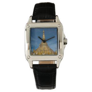 Montres Bracelet Temple d'or de Stupa