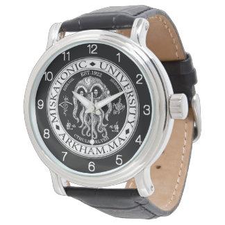 Montres Bracelet Université CTHULHU HP LOVECRAFT de Miskatonic