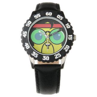 Montres Bracelet Visage de hippie