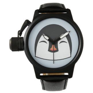 Montres Bracelet Visage de pingouin