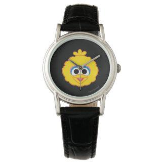 Montres Bracelet Visage de sourire de grand oiseau