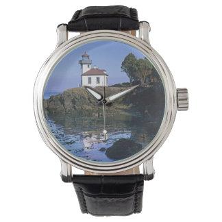 Montres Bracelet WA, île de San Juan, phare de four à chaux