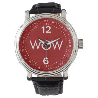 Montres Bracelet Wow rouge 0101WM