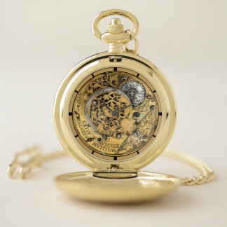 Montres De Poche 1700's antique William Webster Steampunk