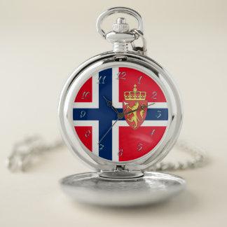 Montres De Poche Drapeau norvégien