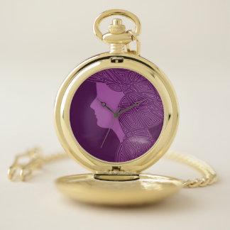 Montres De Poche Madame Purple