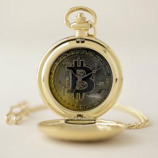 Montres De Poche Pièces de monnaie de Bitcoin