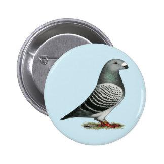 Montrez à coureur le pigeon bleu de contrôleur pin's