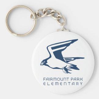 Montrez à votre parc de Fairmount l'esprit Porte-clé Rond