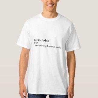 Montrez au monde ce qu'est vraiment un être un t-shirt