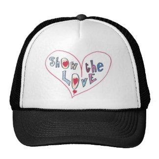 Montrez l'amour casquettes de camionneur