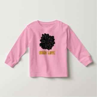"""""""Montrez l'enfant en bas âge à d'amour"""" long T-shirt Pour Les Tous Petits"""