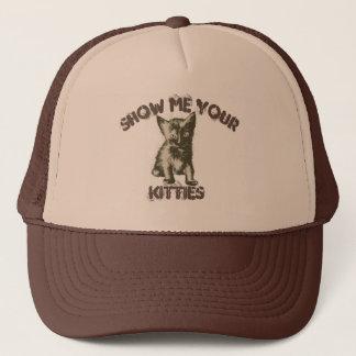 Montrez-moi vos minous casquette