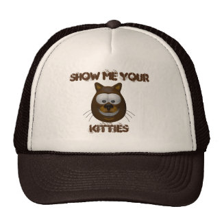 Montrez-moi vos minous casquettes de camionneur