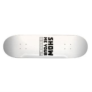 Montrez-moi votre ballot Zh454 de biscuits Skateboards Cutomisables