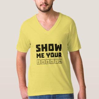 Montrez-moi votre ballot Zh454 de biscuits T-shirt