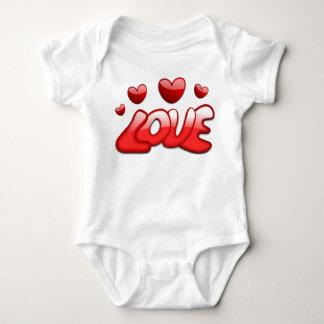 Montrez que le bébé d'amour se développent body