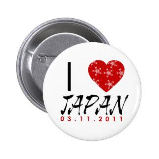 Montrez votre amour au Japon Badges