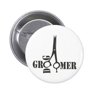Montrez-vous l'exposition canine Groomer frais de Badges