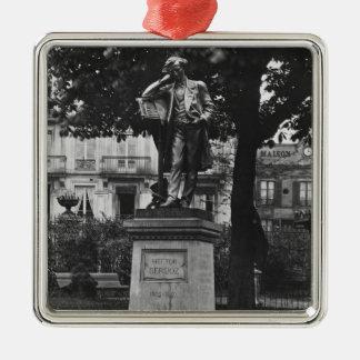 Monument à Hector Berlioz Ornement Carré Argenté