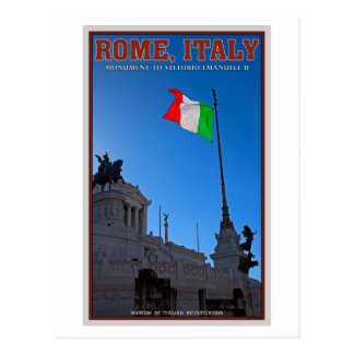 Monument de Rome - de Vittorio Carte Postale