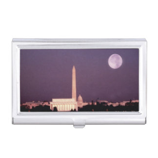 Monument de Washington, le capitol et Jefferson Boîtiers Pour Cartes De Visite
