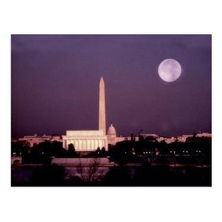 Monument de Washington, le capitol et Jefferson Carte Postale