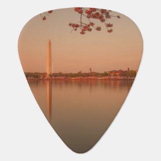 Monument de Washington Sakura au coucher du soleil Médiators