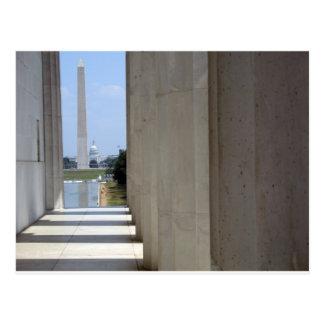 monument du Lincoln Memorial Washington Carte Postale