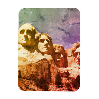 Monument national 1974 du mont Rushmore Magnet Flexible