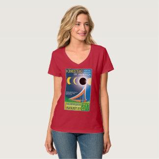 Monument national de ferme d'éclipse de l'Amérique T-shirt