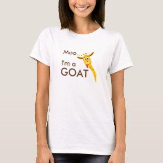 MOO… Im une chèvre… T-shirt de girafe