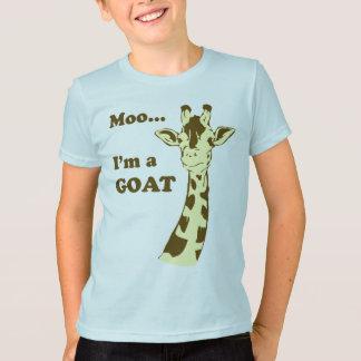 MOO… je suis une chemise d'enfants de CHÈVRE T-shirt