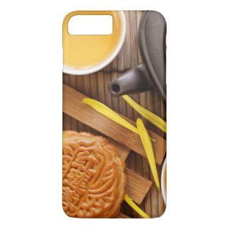 Mooncake et thé, mi festival chinois 2 d'automne coque iPhone 8 plus/7 plus