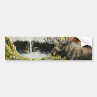 Moose~ une peinture sur les produits personnalisab autocollant pour voiture