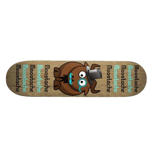 Moostache Skateboard