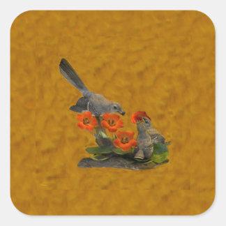 Moqueur (Arkansas, la Floride, Mississippi, le Sticker Carré