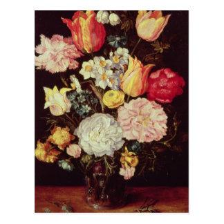 Morceau de fleur carte postale