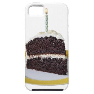 Morceau de gâteau d'anniversaire coques iPhone 5 Case-Mate