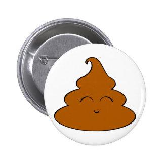 Morceau de Kawaii Poo de dunette mignonne Pooy de Badges