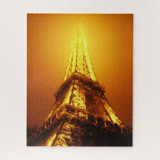 Morceaux de puzzle de Tour Eiffel