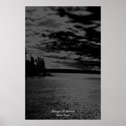 Morgue des saints - sommeil/mort 24x36 affiches