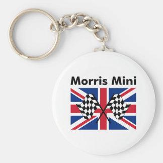 Morris classique mini porte-clé rond