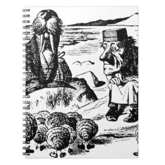 Morse, Carpeter et huîtres Carnet